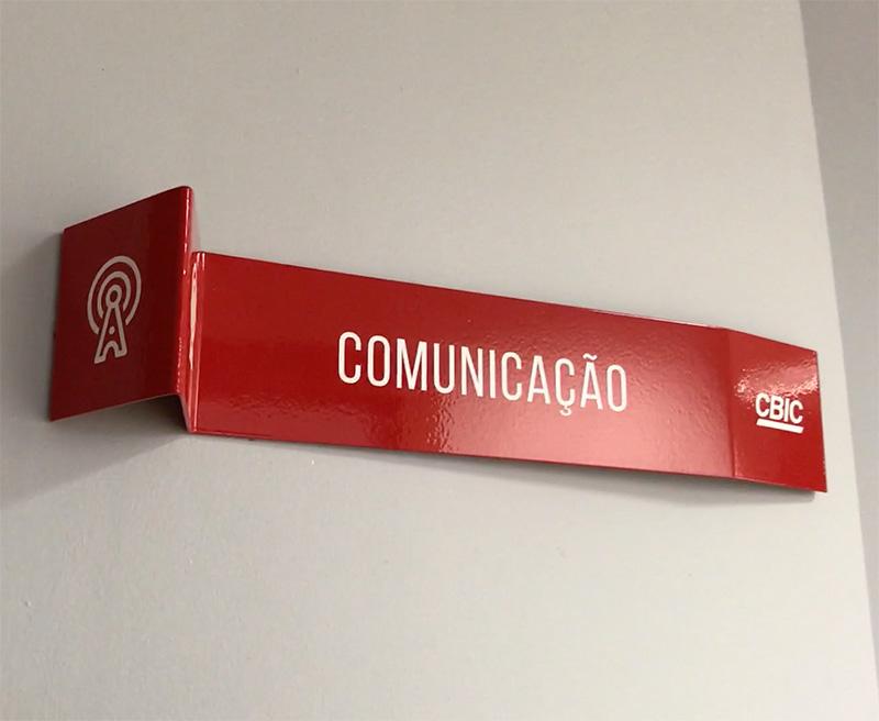 CBIC Comunicacao Visual Nova Sede Placas de Porta 3